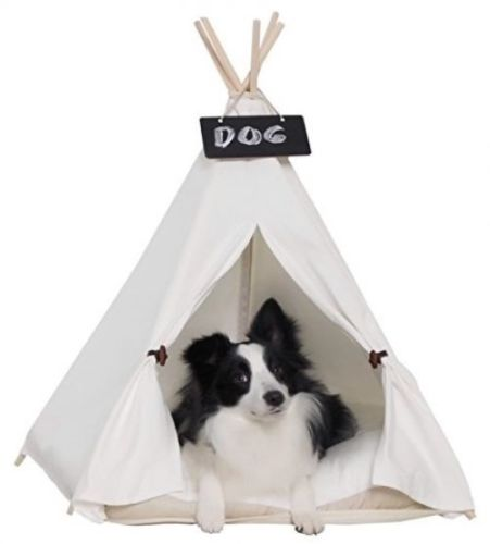 Little Dove Pet Teepee House Pet Bed Portable Dog Tents Pet Beds And Houses For