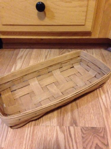 Longaberger 1986 Vintage RARE Retired Bread Basket - EUC
