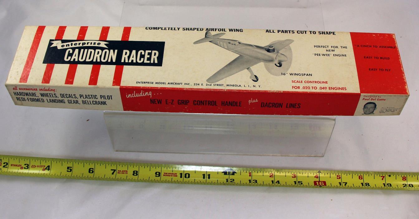 Enterprise Caudron Racer -  Balsa  airplane