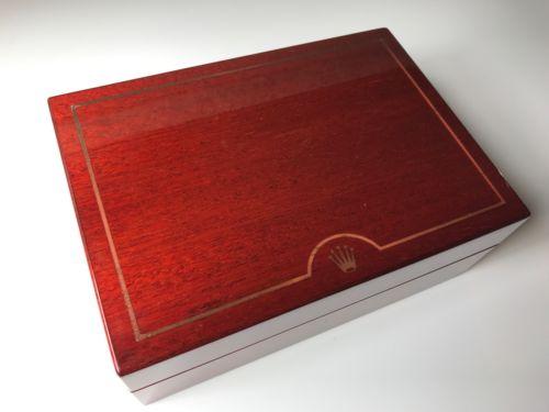Rolex Zenith Daytona Gold Wooden Vintage Box 1990s 69.00.09 16518 16519 16520