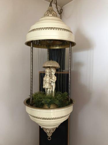 Vintage Hanging Rain Lamp