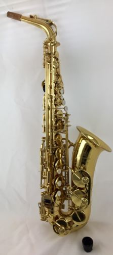 Beautiful Yamaha Custom 82ZII Eb Professional Alto Saxophone, Free US shipping
