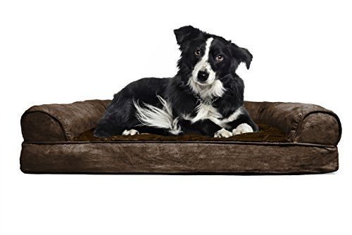Large Dog Bed in Espresso Orthopedic      (36