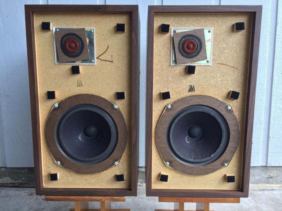Original Large Advent Speakers From Original Owner