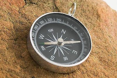Lightweight Aluminum Mini Camping Compass - Outdoor Navigation