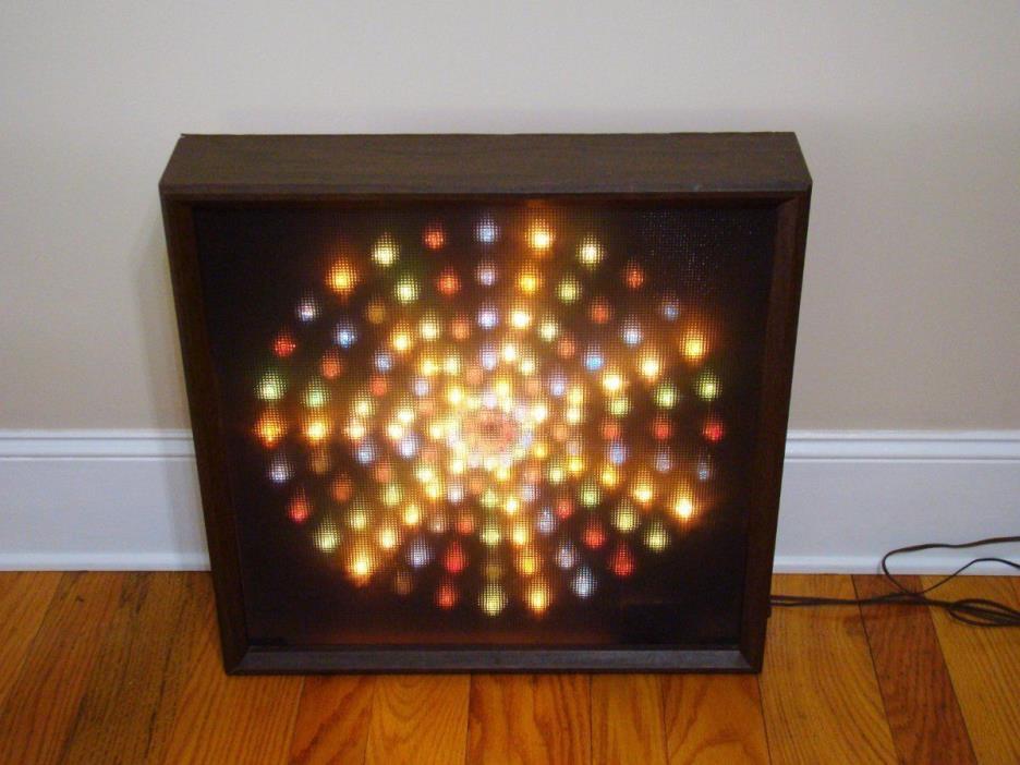 Vintage Heathkit TD-1006 4 Channel Color Organ Light Show