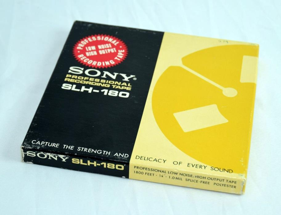 Recorded music SONY SLH-180 7