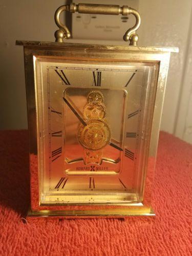 Howard Miller Skeleton Quartz  Clock