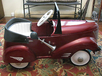 Vintage Original 1940 Gendron Pioneer Roadster Pedal Car