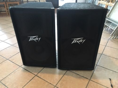 Peavey Speakers  Free Stands & Cables