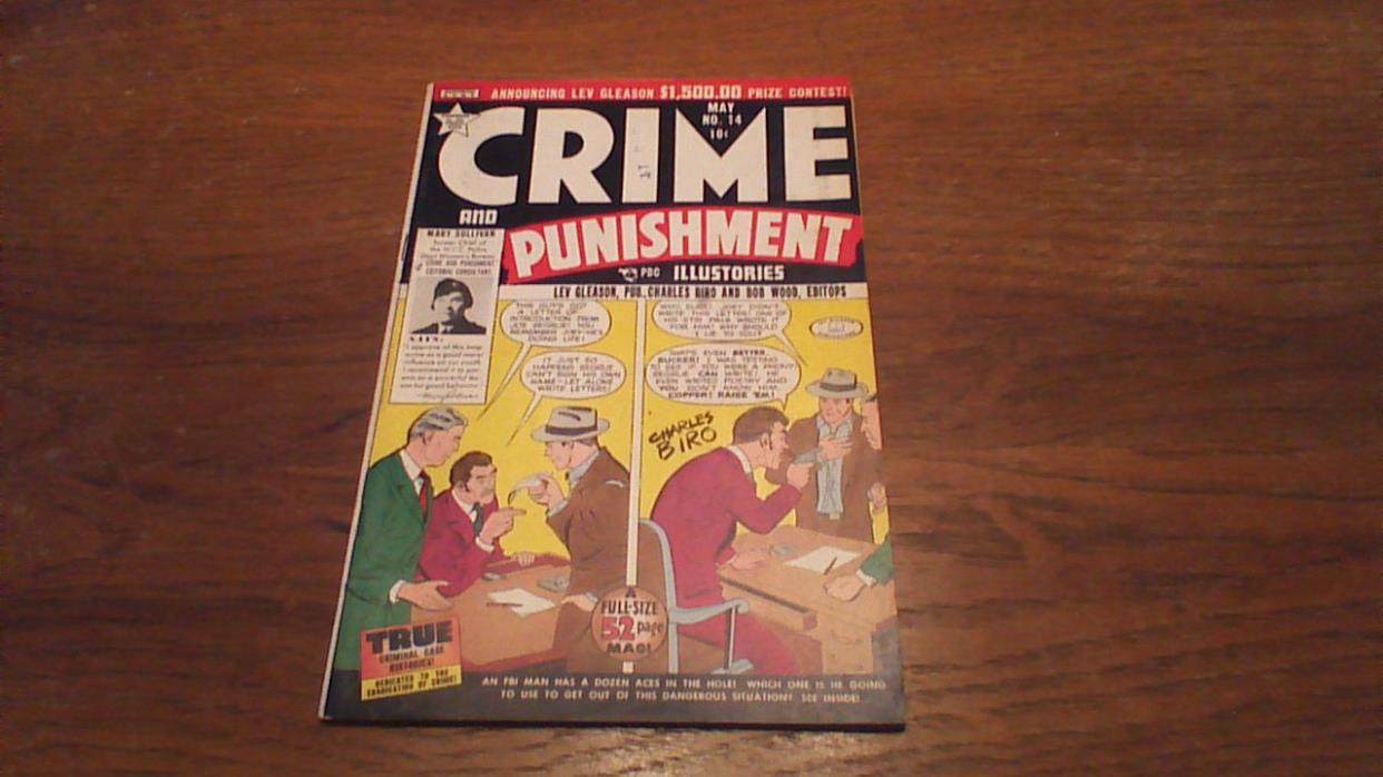 Crime and Punishment #14 (May 1949, Lev Gleason) HIGH GRADE