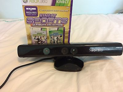 Xbox 360 Kinect With Kinect Sports Unlimited Collection