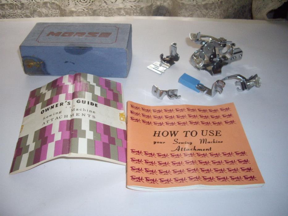Morse sewing machine parts