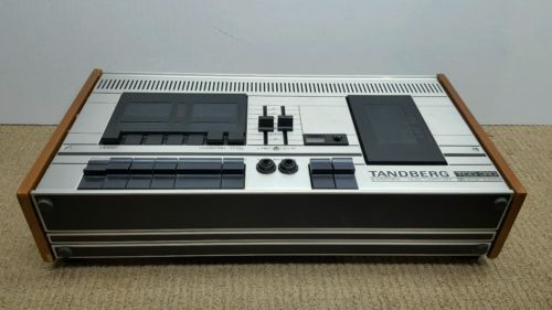 VTG TANDBERG TCD 310 DUAL CAPSTAN CASSETTE TAPE PLAYER RECORDER MADE NORWAY