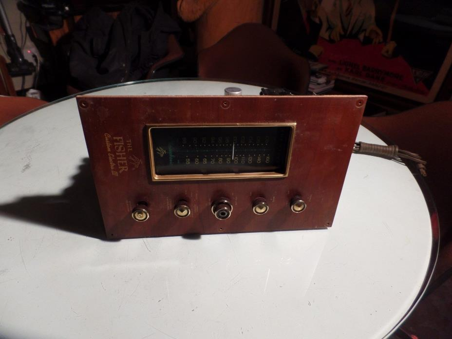 Vintage  Fisher Electra consol  mono tube amplifier 30A