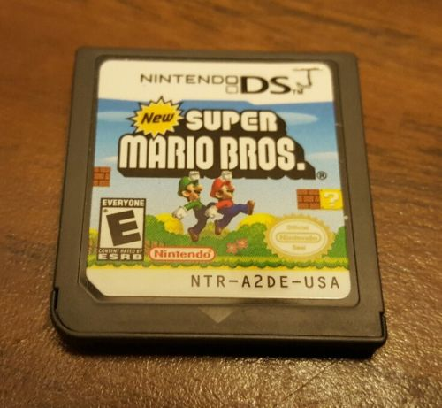 NEW SUPER MARIO BROS. Nintendo DS NDS 2006 Cartridge Only