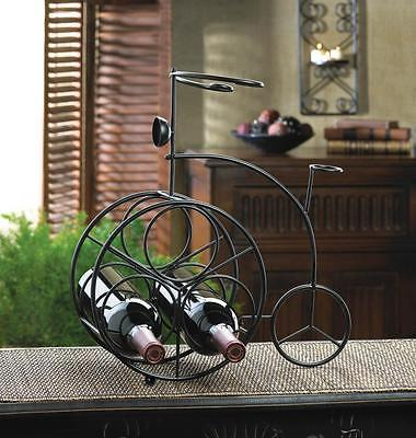 Iron Bicycle Wine Rack