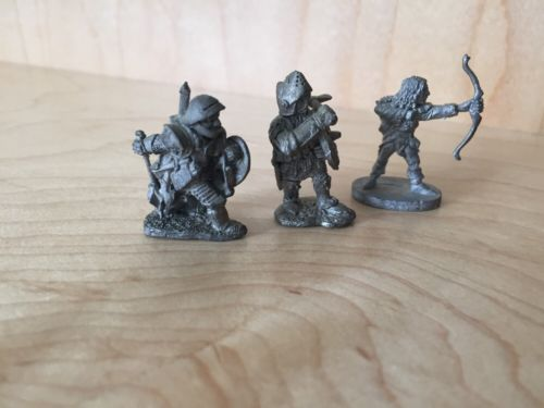 Vintage Grenadier & Ral Partha Player Characters (3)