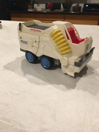 Rokenbok RC PS422 Power Street Sweeper Truck Vehicle