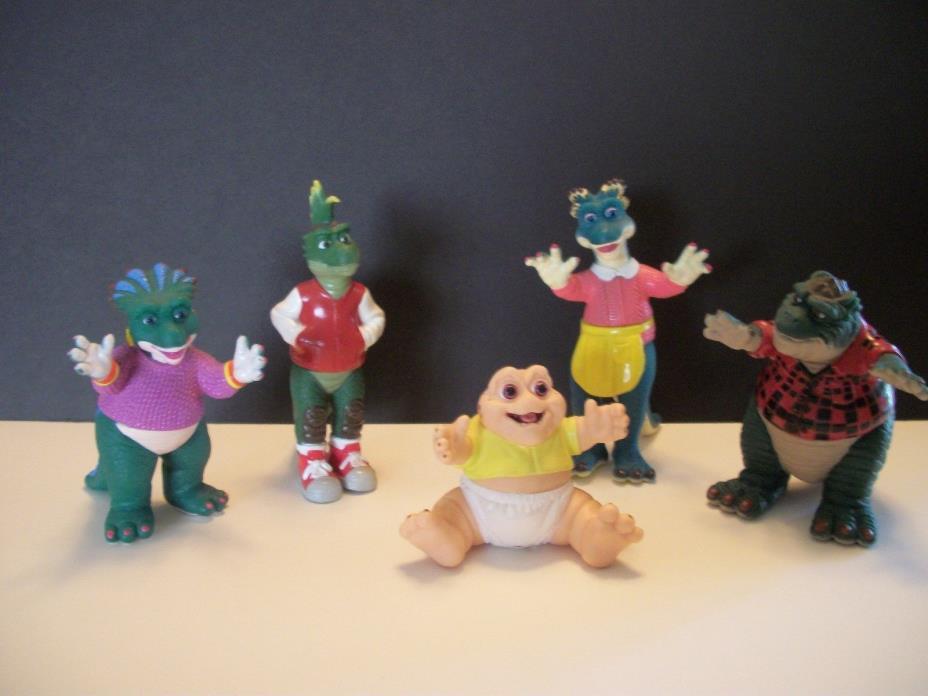 1991 Disney Dinosaurs TV Show Action Figures