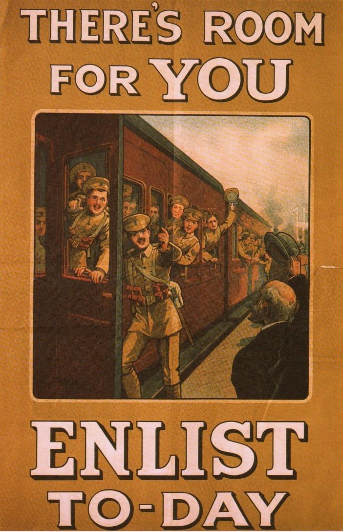 WORLD WAR I POSTER ART