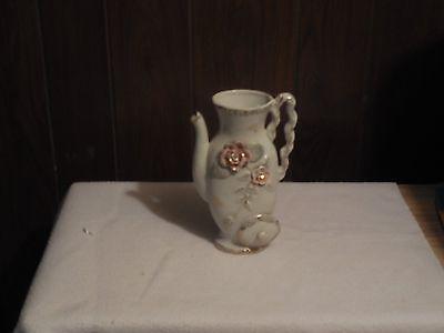 Lefton teapot vase