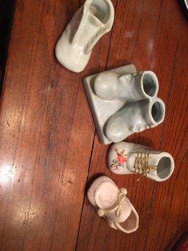 Porcelain Baby Shoe Lot