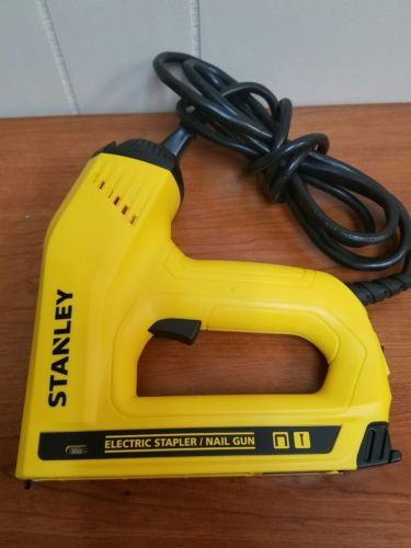 Stanley 2-in-1 Electric Stapler and Strip Brad Nailer