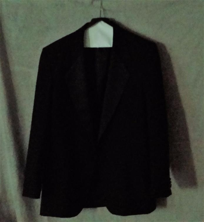 Vintage Men's Clubman Worsted Wool Tuxedo Jacket size 42 Regular VGUCsb