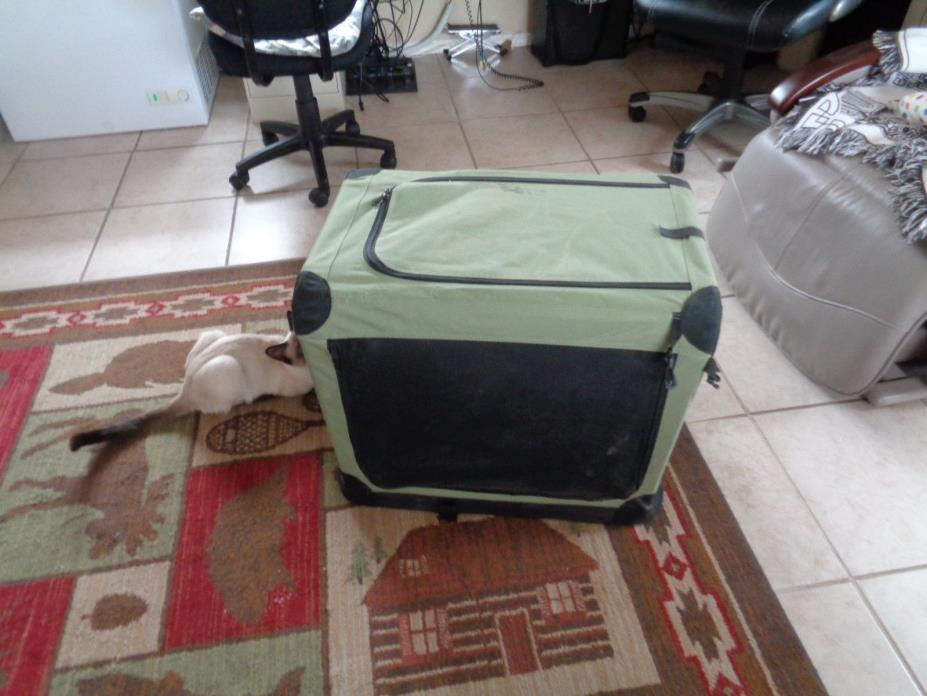 DOG CANVAS CAGE/CARRIER