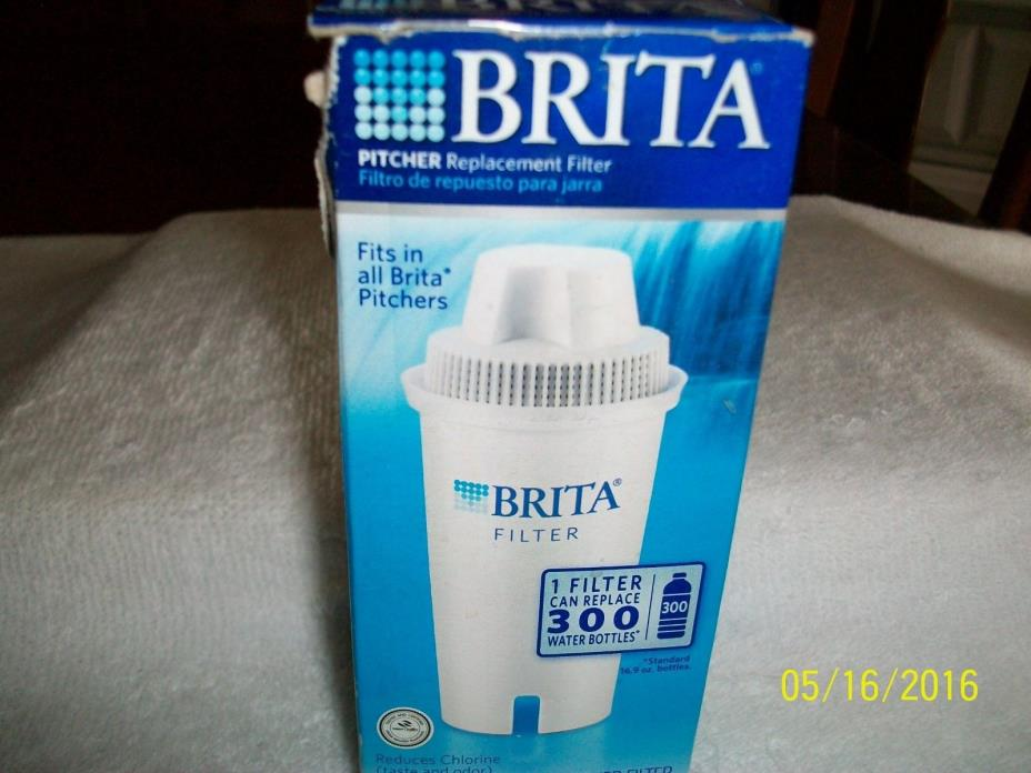 BRITA PITCHER REPLACEMENT  FILTER FITS ALL BRITA PICTHERS