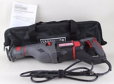 Craftsman 12 Amp Scrolling Reciprocating Saw w/case