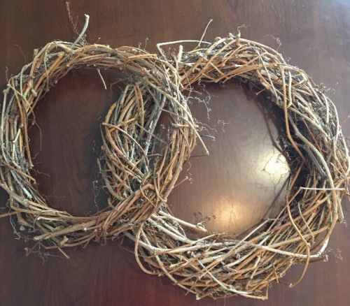 2 Oregon Vineyard Grape Vine Wreaths 15