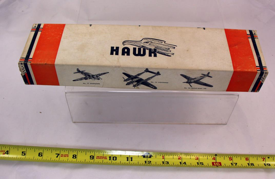 Hawk Thunderbolt P-47  Balsa  airplane