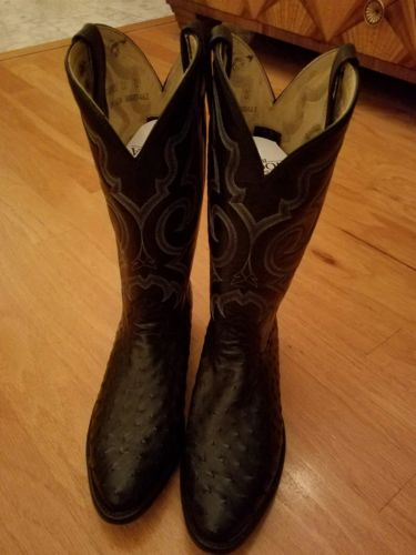 ***NEW*** Men's Size 11 FULL QUILL OSTRICH NOCONA BOOTS