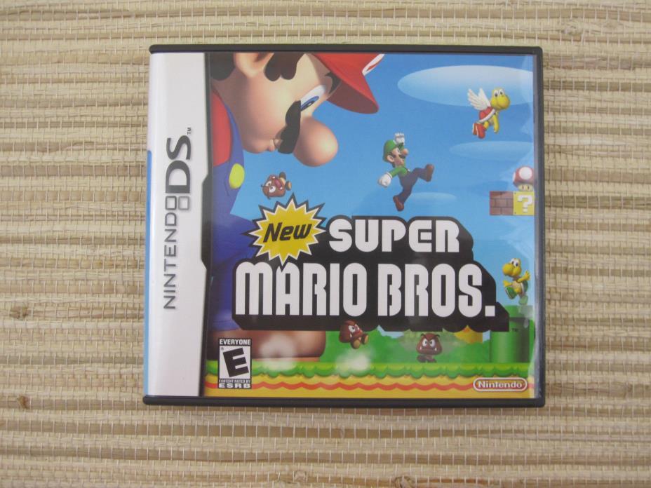 New Super Mario Bros. - Nintendo DS Game (Nintendo DS, 2006) *Complete