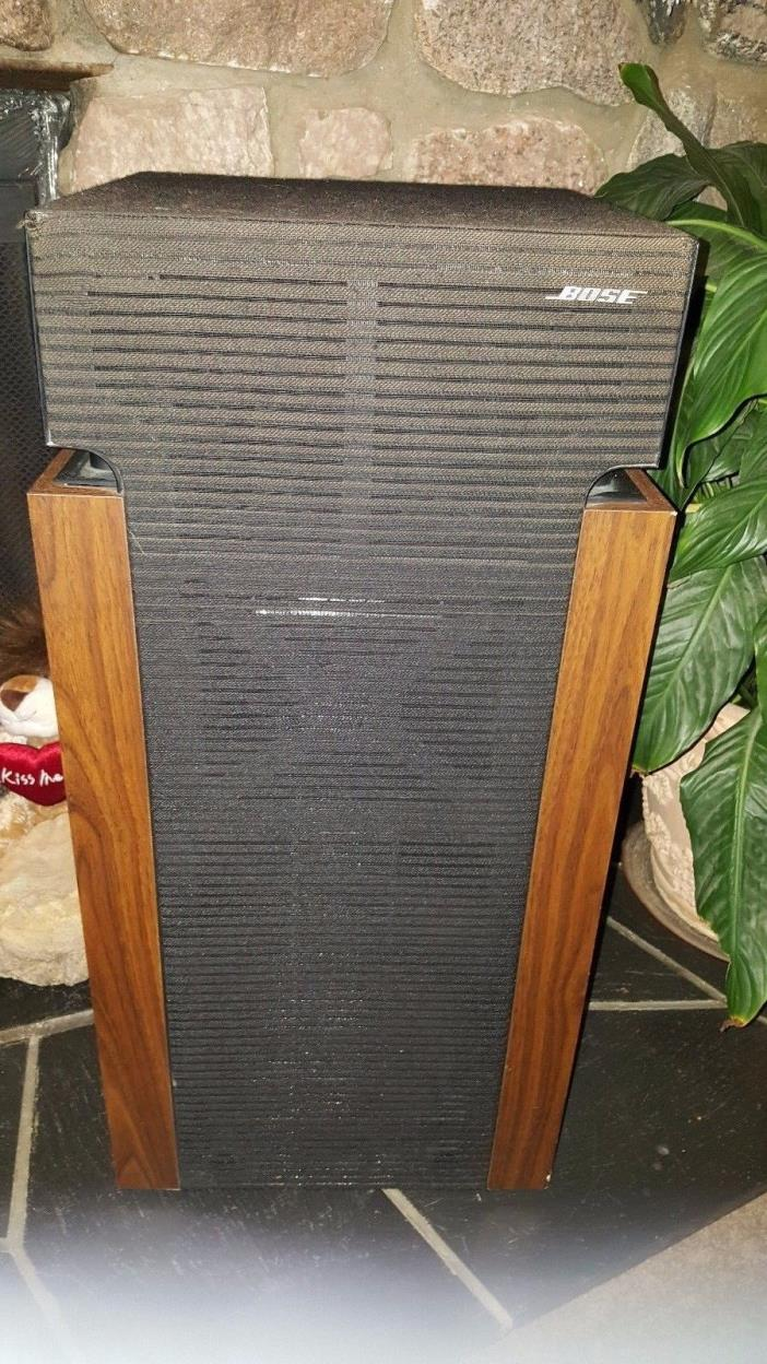 Vintage Bose Loud Direct Reflect Floor Speakers 601 Series II Fair Set of 2 Two