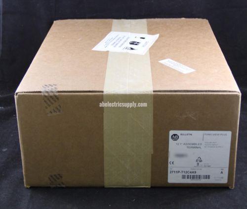 New Sealed Allen Bradley 2711P-T12C4A9 Ser A 2016 Panelview Plus 1250