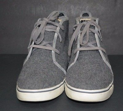 UGG Men Boots Ankle Length Men Size 12 US Gray Pre-owned