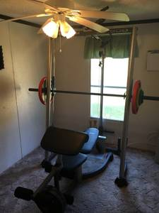 $250 Obo Pro form xp weight bench exercise machine (Sumter)