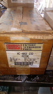 Genteq/Carrier HC 40GE 233 Motor HP 1/4 Hp 208/230V CW Condenser Motor