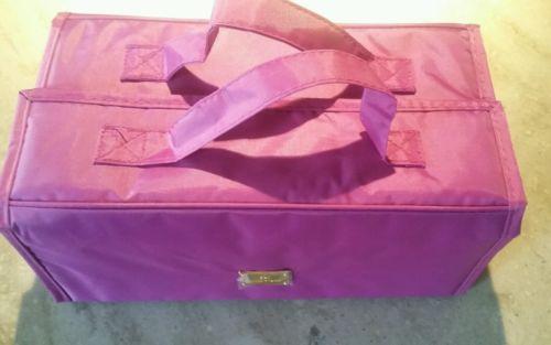 NWOT JM New York MediumPurple Roll Out Travel Bag Organizer
