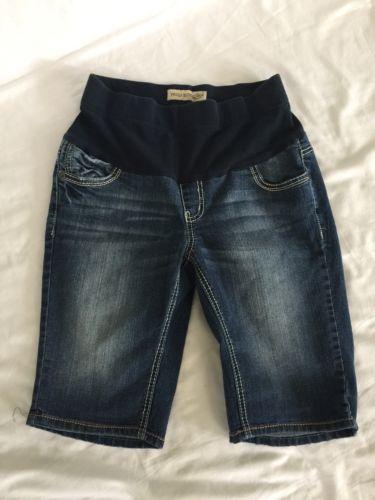 Paris Blues Maternity Bermuda Knee Length Shorts (M) EUC
