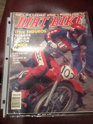 Dirt Bike Magazine July 1977 Can-Am 250 MX3 175cc Enduros