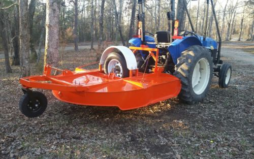6' Tire Driven Brush Hog Bush Hog