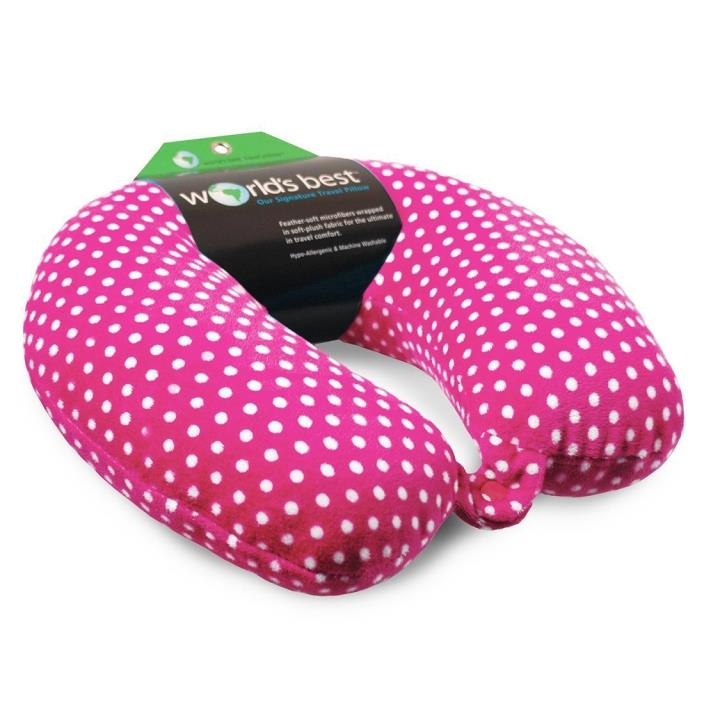 Inflatable Soft Microfiber Travel Neck Pillow For Car Airplane Support Sleep