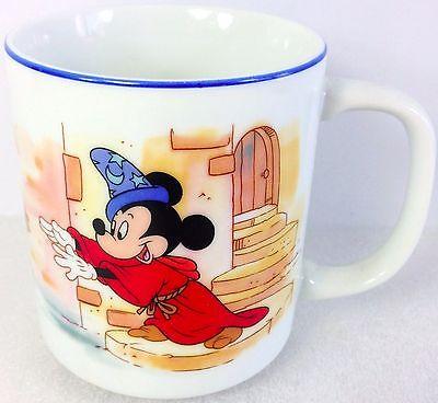 Disney Mug Mickey Mouse FANTASIA Japan