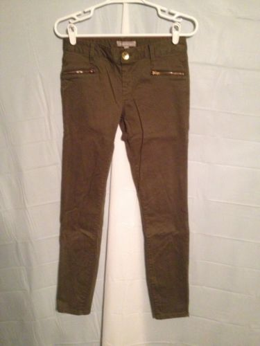 Women's Banana Republic Jeans Sz: 25 Waist Green Skinny
