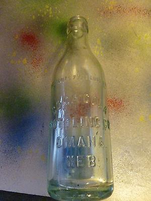 Vintage Straight Side Coke Bottle