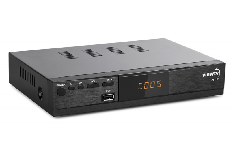 High Quality ViewTV AT-163 ATSC New Digital TV Converter Box and Media Player